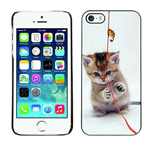 [ For APPLE IPHONE 5 / 5S ][ Xtreme-Cover ][ Coque Rigide Case Cover ] - Cool Cat