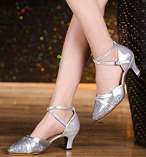 de UK3 baile zapatos con baile US5 KUKI CN35 baile suave 5 rendimiento de Zapatos latino 5 Zapatos para adultos de de EU35 qH7w7S5xv