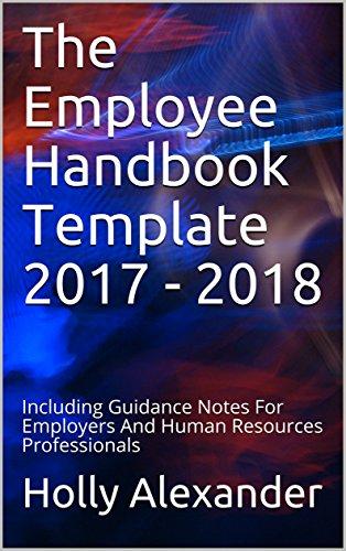 Amazoncom The Employee Handbook Template Including - Hr employee handbook template