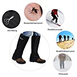 Hpory 1 Pair Hiking Leg Gaiters, Snow Boot Gaiters,...