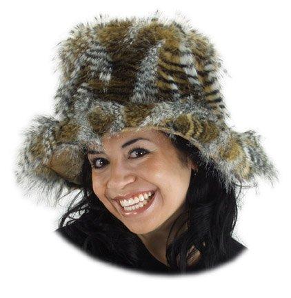 Adult's Lynx All Fur Sugar Daddy Costume Hat -