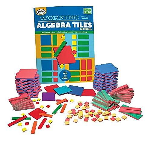 EAI Education QuietShape Algebra Tiles Classroom Kit - Algebra Tiles Student Set