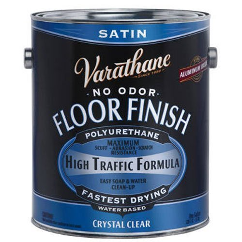 RUST-OLEUM 230231 Satin Water Floor Finish (Varathane Water)