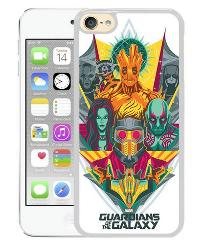 Guardians Of The Galaxy White iPod Touch 6 Phone Case,Newest Skin (Guardians Of The Galaxy For Sale)
