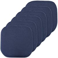 Sweet Home Collection Cushion Memory Foam Chair Pads...