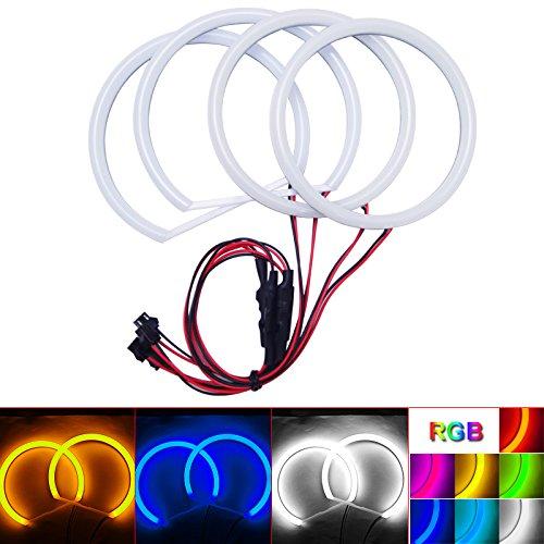 [해외]필도 카 제 논 코 튼 엔젤 아이즈 헤일로 링 라이트 BMW E84X1 (2010 년) 비 프로젝터 헤드 라이트 (화이트) / FEELDO Car Xenon Cotton Angel Eyes Halo Ring Light For BMW E84X1(2010-2011) Non-projector Headlight (White)