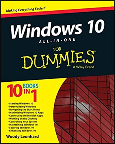 Amazon Com Windows 10 All In One For Dummies 9781119038726 Woody