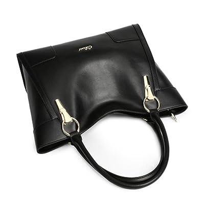 Amazon.com: Cluci Women's Leather Handbags Shoulder Tote Top ...