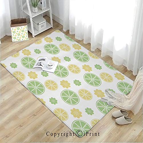 mat for Bathroom Rug Dining Room Home Bedroom,Peacock Decor,Stunning Peacock Tail Feathers Tropical Exotic Animals Close up Picture Artwork,Green Mustard Navy,W19.7 xH31.5,Coloring Halloween cat -