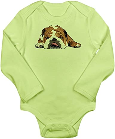 Infant Creeper inktastic English Bulldog Mom Dog Breed