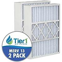 Lennox 20x25x5 Merv 13 Replacement AC Furnace Air (2 Pack)