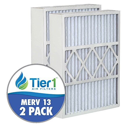 Honeywell FC100A1037 20x25x5 Merv 13 Replacement Air Clean Filter (2 Pack) by Tier1