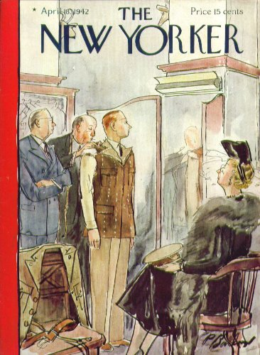 (New Yorker cover Barlow tailored uniform 4/18 1942)