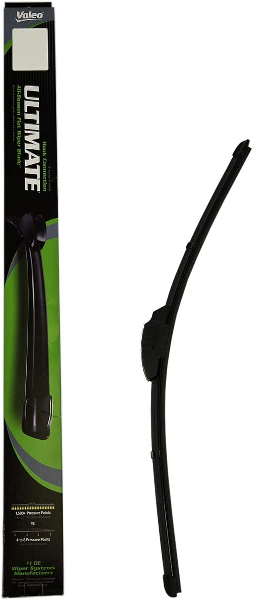 "Valeo 900211B Frameless ULTIMATE 21"" All-Season OE Replacement Wiper Blade,Black"