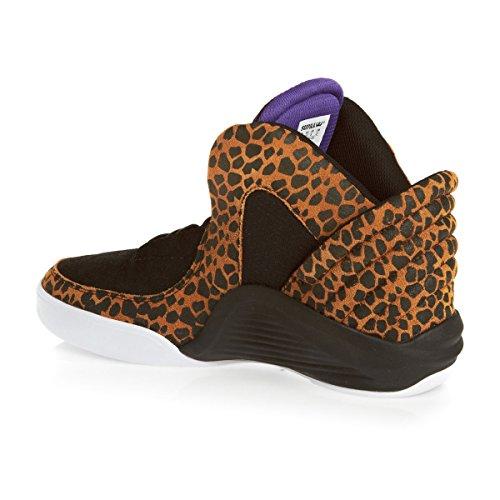 Supra - Zapatillas para hombre negro negro, color negro, talla UK 08