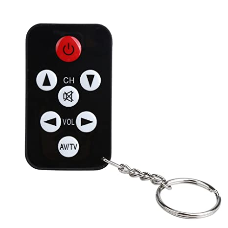 Fygrend - TV Control Remoto Mini Llavero Universal para ...