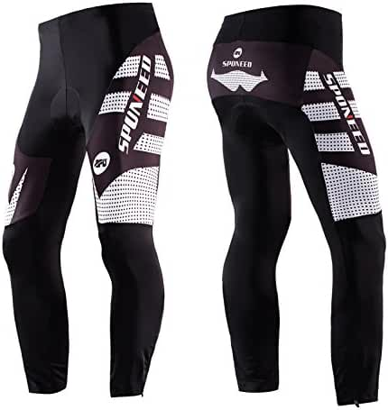 Sponeed Men's Long Bicycle Pants Padded Cycling Tights Ourdoor Clothes Bike Wear
