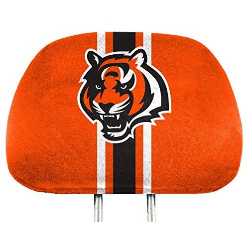 Nfl Cincinnati Bengals Full Print Head Rest Covers 2 Pack