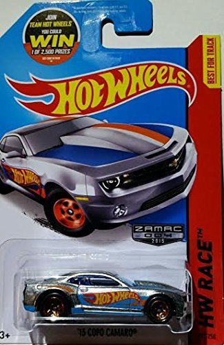 2015 Hot Wheels Hw Race - '13 Copo Camaro (Walmart Hot Wheels Track)