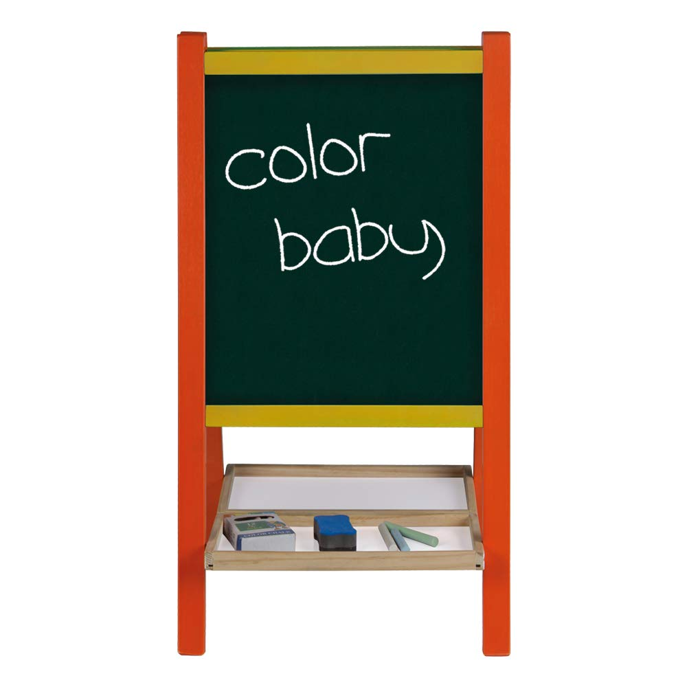 ColorBaby Play&Learn Pizarra caballete de madera (43692)