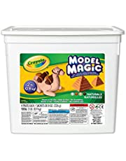Crayola Model Magic Bucket, Naturals, School and Craft Supplies, Gift for Boys and Girls, Kids, Ages 3,4, 5, 6 and Up, Holiday Toys, Arts and Crafts