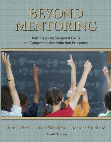 Beyond Mentoring: Putting Instructional Focus on Comprehensive Induction Programs