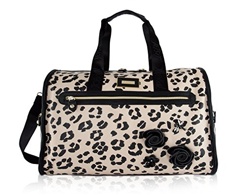 Betsey Johnson Travel Weekender (Cheetah) (Travel Cheetah Luggage)