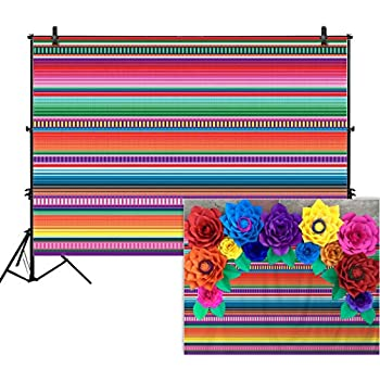 Amazon Com Mehofoto Mexican Fiesta Baby Shower Backdrop Taco Bout