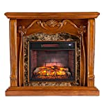 Southern Enterprises Infrared Media Fireplace from Southern Enterprises