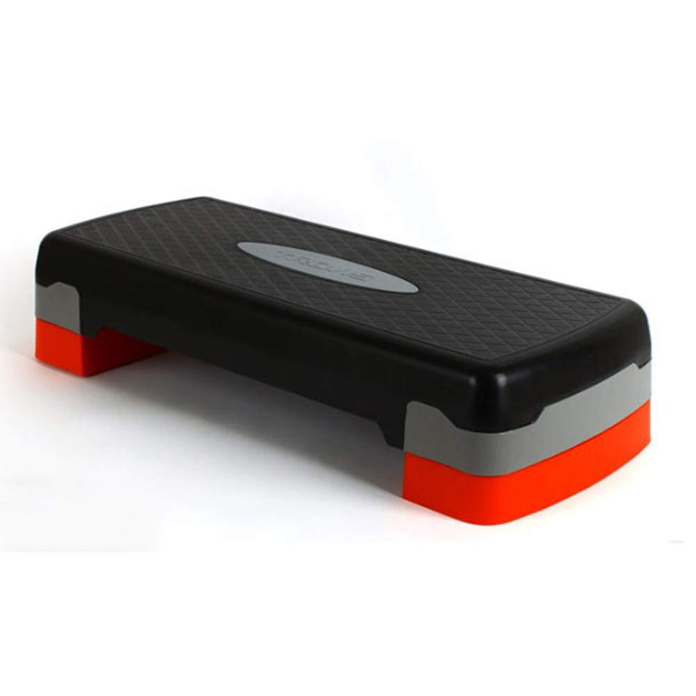 TOOVISOEM Aerobic Stepper Plus Step Box Board 2step Fitness Yoga Exercise Gym Stepper Walking Stairway Exercise