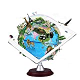 Teepao Smart AR Globe for Kids, Interactive Day View World Globe Night View