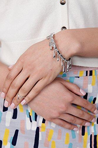 Lucy Quartermaine courtes: Bracelet jonc avec charnière