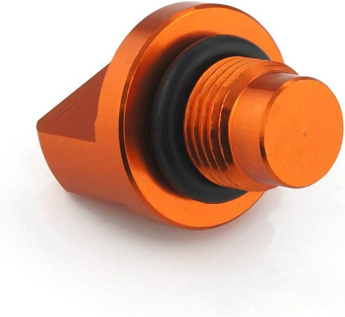 QIDIAN For KTM DUKE 125//200//390 For RC 125//200//390 Motorbike Accessories CNC Aluminum Engine Magnetic Oil Drain Plug