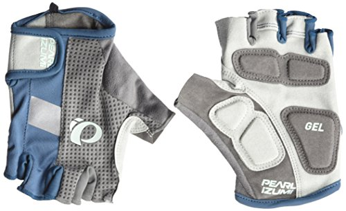 Pearl iZUMi Women's Elite Gel Gloves, Blue Steel, Medium (Pearl Izumi Women Cycling Gloves)