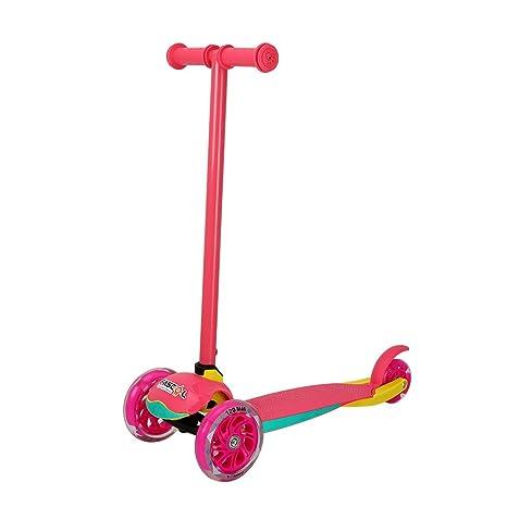 Fascol Patinete Plegable de 3 Ruedas para niños de 2 - 7 Años, Scooter 3