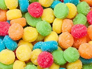 product image for Sour Gummi Gummy Poppers Smiley Face Candy 1 Pound Bag