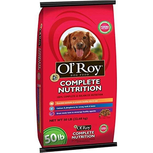 Ol' Roy Complete Nutrition Dog Food, 50 Lb by Ol' Roy (Old Roy Dog Food)