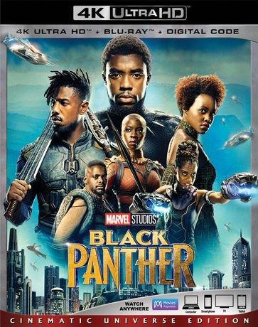 Black Panther [4K UHD + Blu-ray]