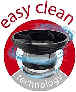 عصارة عصير ونظافة بطيئة ZU420E27، قوي مع 4 برامج.