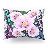 Society6 DECO STYLE GARDEN FANTASY FLORAL Pillow Sham Standard (20'' x 26'') Set of 2