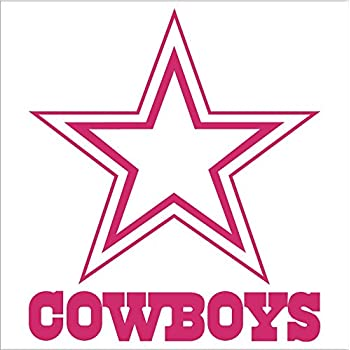 amazoncom dallas cowboys football vinyl car decal