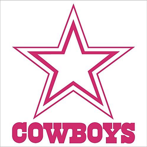 Dallas Cowboys NFL Window Sticker Decal (6