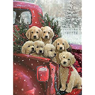 Christmas Delivery Jigsaw Puzzle 1000 Piece: Toys & Games