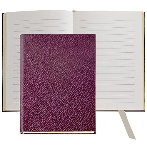 The MILLENNIAL JOURNAL Pebble-Grain Wine Leather by Graphic Image™ - 6x8 by Graphic Image
