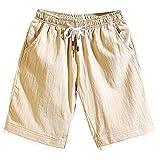 narcissus flower Summer Men Casual Shorts Linen Pants Plus Size Leisure Jogger Pants