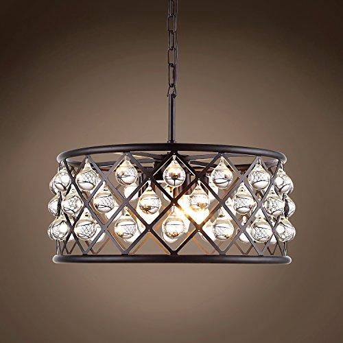 Crystal Grid Hoop 5 Light 20