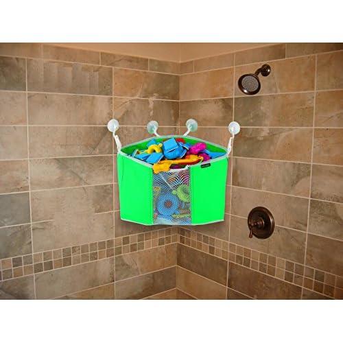 lovely Corner Toy Shower Caddy By Lebogner - Baby Bath Toy Organizer ...