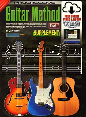CP69133 - Progressive Guitar Method Book 1 - Supplement - Book/CD/DVD