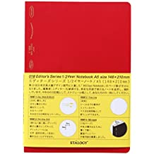 STALOGY 018 Editor's Series 1/2 Year Notebook (A5//Red)