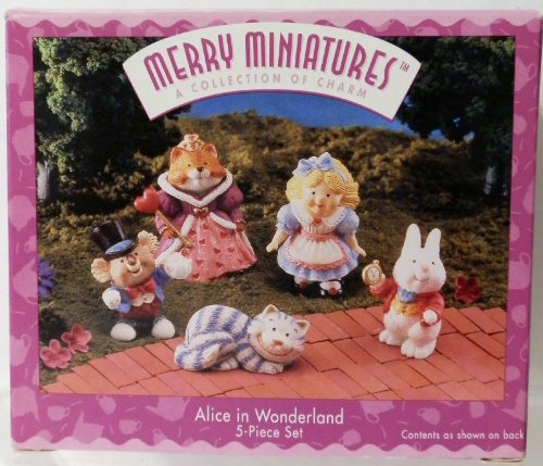 Hallmark Merry Miniatures Alice in Wonderland 1996